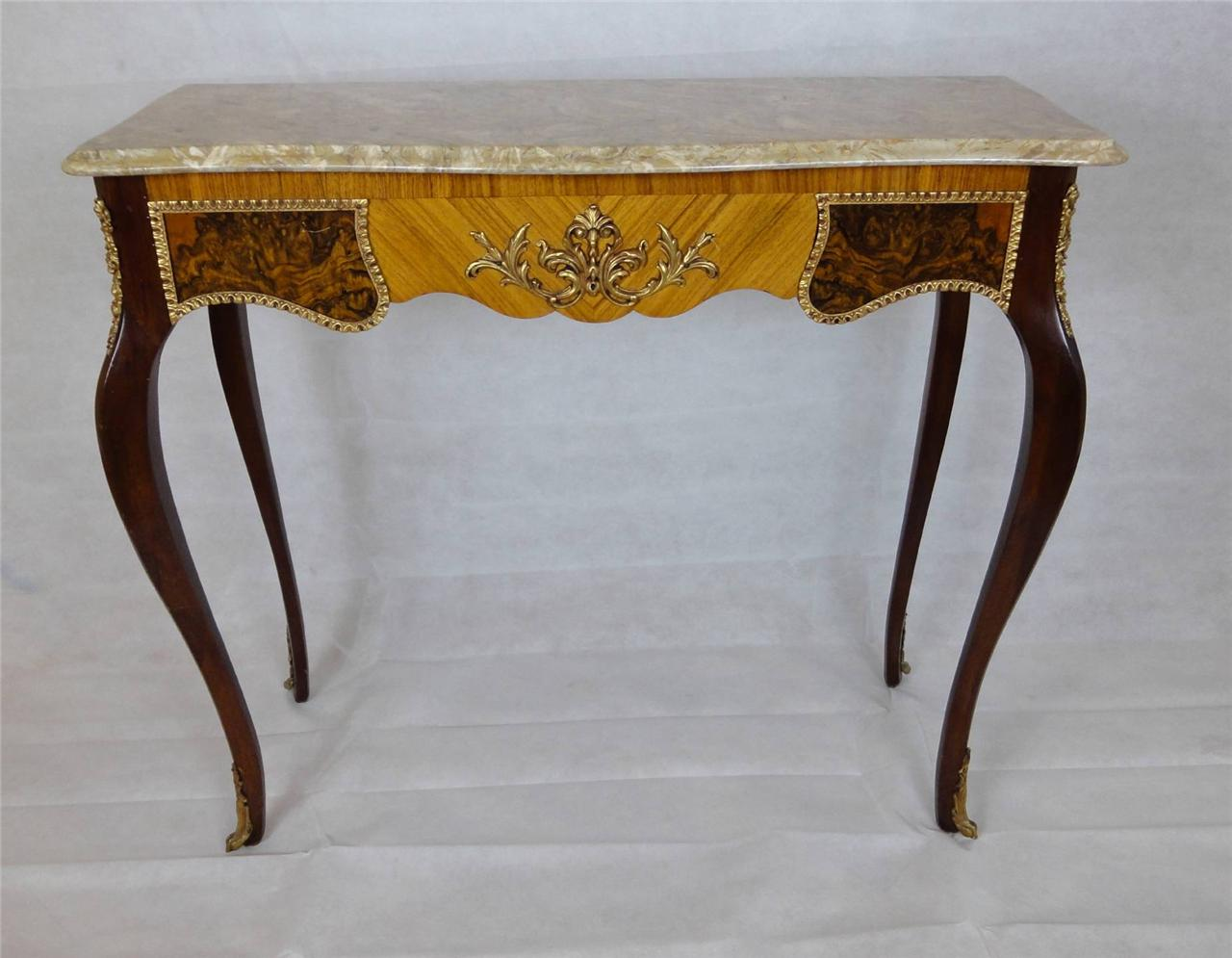 French Louis XV style Walnut table