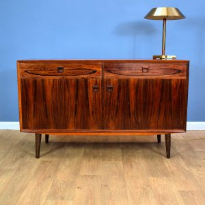 Mid Century Retro Danish Eric Brouer Rosewood Sideboard TV Cabinet with Drawers
