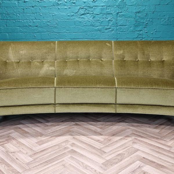 green banana sofa
