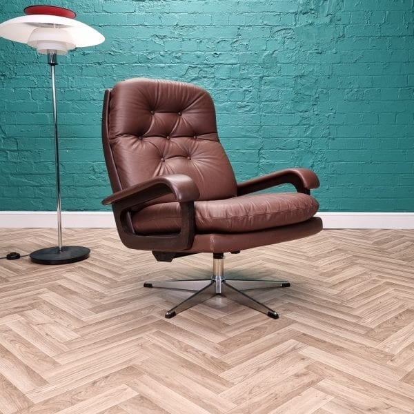 danish swivel chair