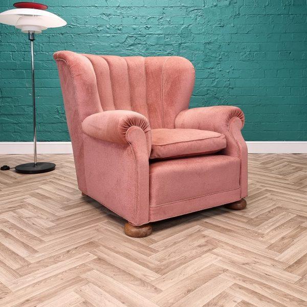 danish pink chair